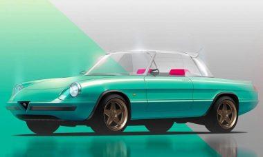 Alfa Romeo Spider elétrico