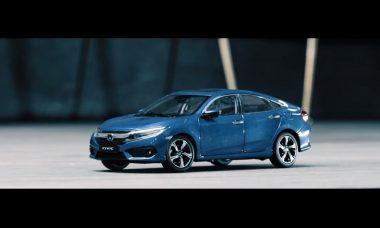 Honda Civic ganha comercial gravado (literalmente) dentro de casa