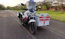 Hero MotoCorp constrói moto-ambulâncias para transportar pacientes de Covid-19