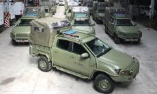Exército argentino troca Mercedes por Ford Ranger
