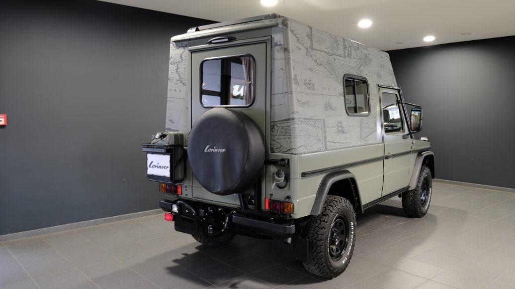 Mercedes Classe G militar vira casa sobre rodas na Alemanha