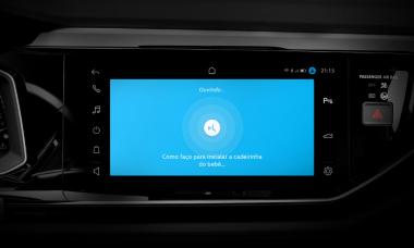 VW Nivus terá multimídia com wi-fi e espelhamento sem fio