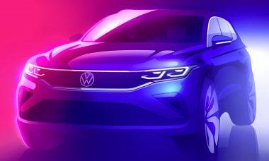 VW Tiguan reestilizado aparece em teaser