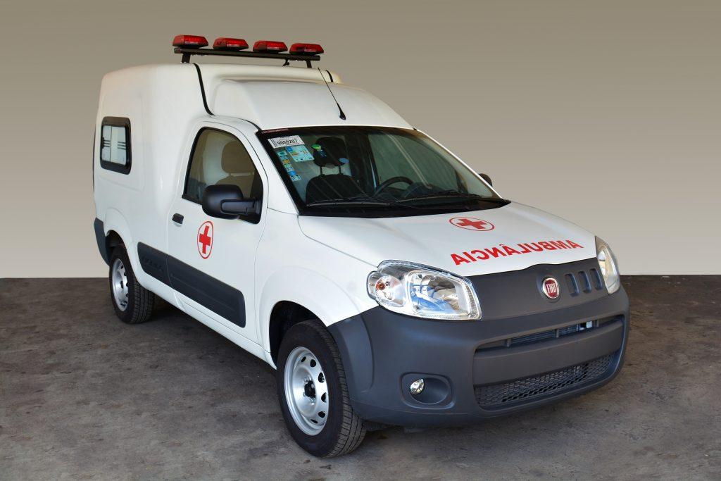 Fiat Fiorino ganha versão Ambulância de fábrica