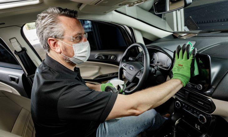 Ford oferece serviço de desifecção hospitalar para veículos