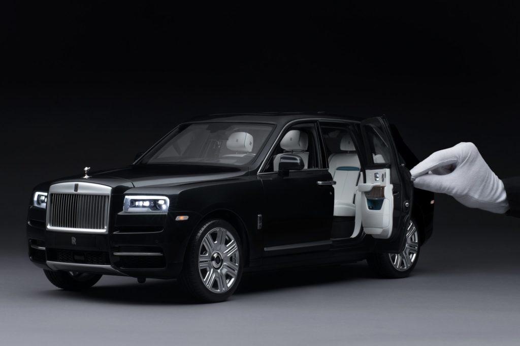 Rolls-Royce vai fabricar miniaturas quase reais do SUV Cullinan