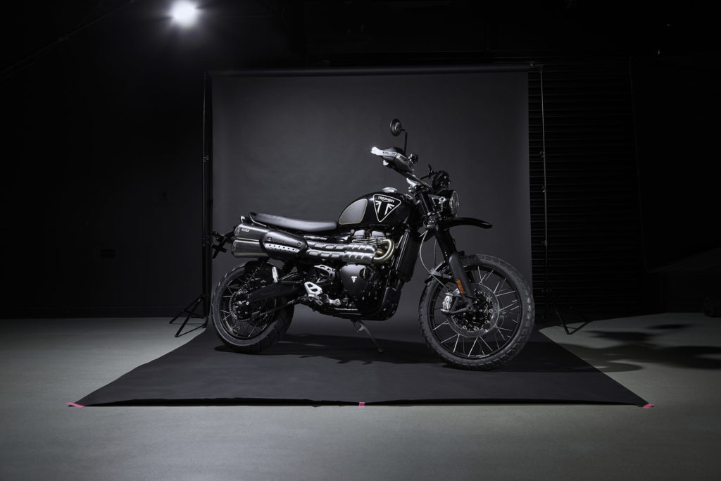 Moto do 007, Triumph Scrambler 1200 Bond Edition está à venda