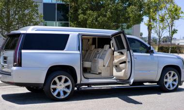 Por dentro de Becker Cadillac Escalade ESV de Tom Brady