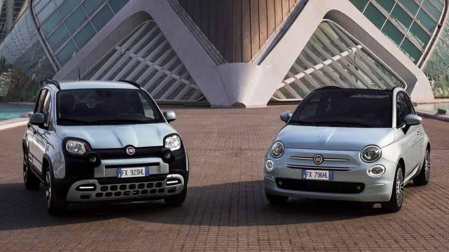 O pacote será oferecido para as versões mais recentes dos pequenos  Panda e Fiat 500 Hybrid.