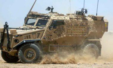 General Dynamics UK entrega 400 veículos Foxhound ao Exército Britânico