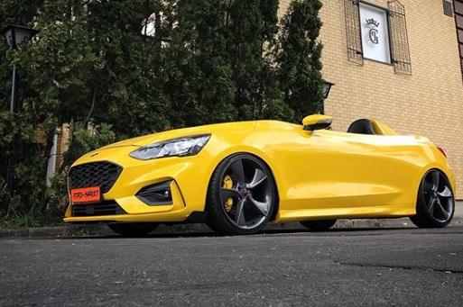 Preparador transforma Ford Focus em esportivo de dois lugares