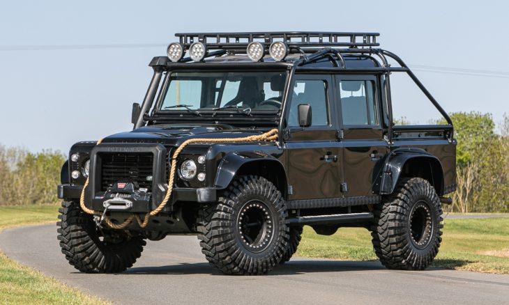 """Land Rover de """"007 contra Spectre"""" vai a leilão em maio"""
