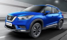 Nissan Kicks ganhaa motor turbo na Índia