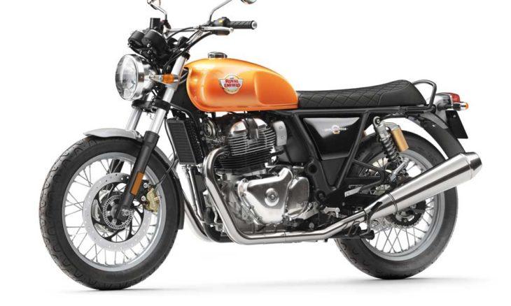 O Royal Enfield 650 é a moto mais vendida no Reino Unido