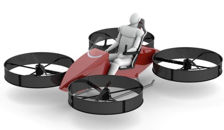Empresa oferece moto voadora para a Força Aérea dos EUA