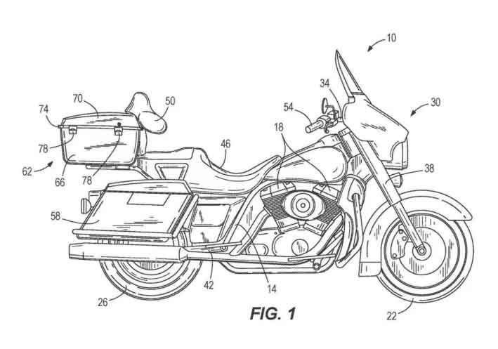 Teoricamente, será possível que a moto se equilibre sozinha.