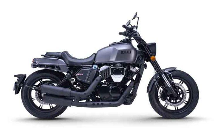Bullit V-Bob 250 uma moto musculosa sem músculos