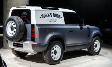 Land Rover Defender ganha versão de uso comercial