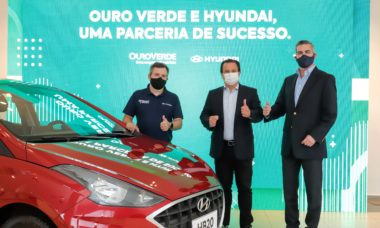 Hyundai vende 600 unidades do HB20 para a locadora Ouro Verde