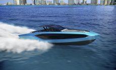Lamborghini revela iate de 4.000 cv inspirado no Sián