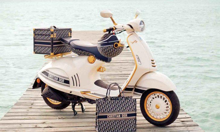 Vespa 946 Christian Dior. Foto: Divulgação
