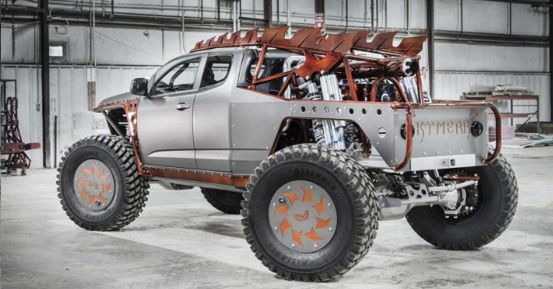 Chevrolet S10 vira picape digna de Mad Max