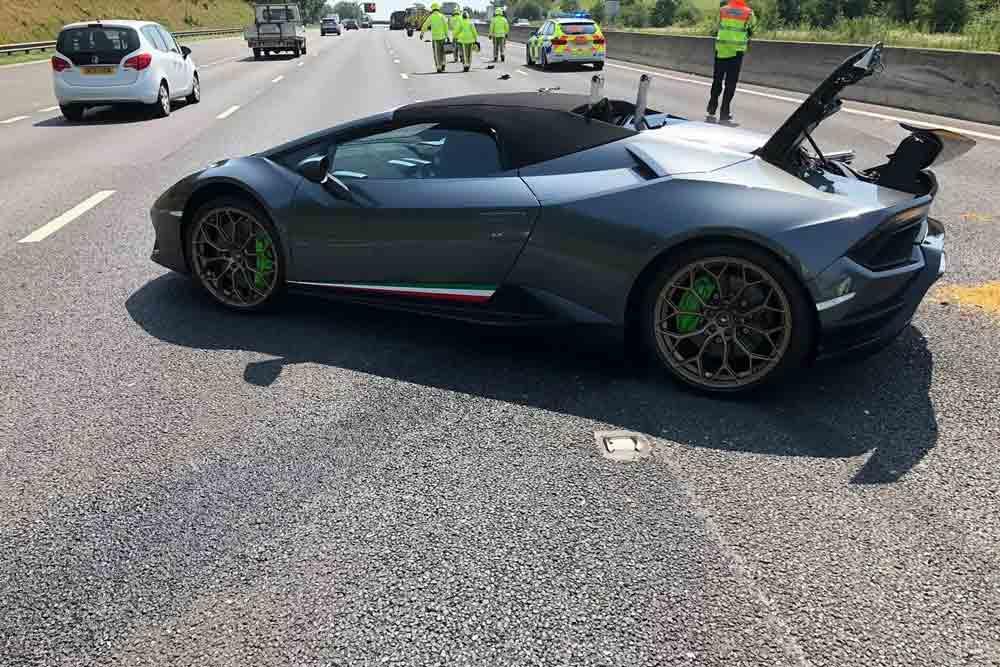 Carro está avaliado em R$ 1.3 milhão