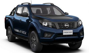 Nissan Frontier Attack ganha duas novas opções de cores