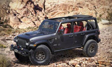 Jeep Wrangler vira conceito com motor 6.4 V8