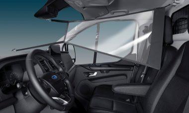 Contra o covid-19, Ford lança na Europa escudo protetor para veículos