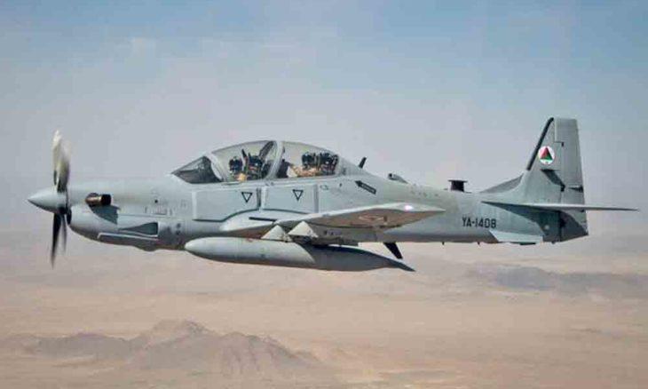 As autoridades do Afeganistão confirmaram que um A-29 caiu na parte nordeste do país.