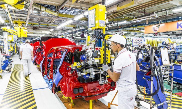 Fábrica da Fiat em Betim (MG) completa 44 anos