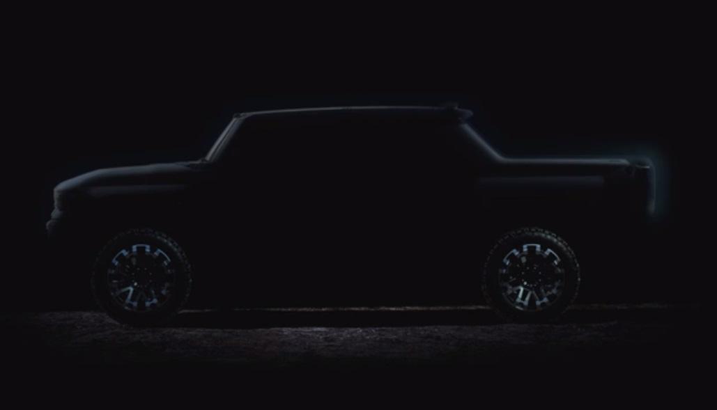 GMC Hummer EV aparece em novo teaser