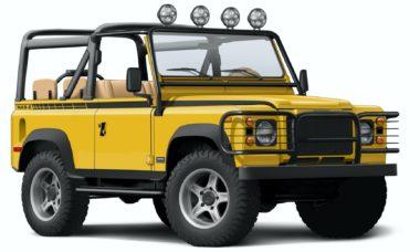 Empresa transforma Land Rover Defender em 4x4 elétrico