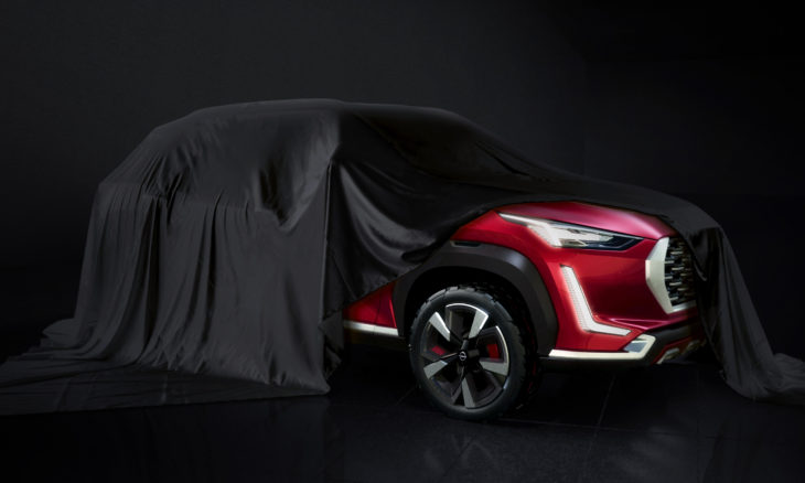 Nissan revela teaser do mini Kicks