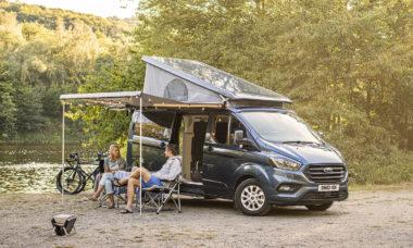 Ford apresenta nova versão para camping da van Transit