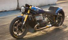 Designer transforma moto BMW R 18 em dragster