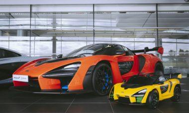 McLaren Senna vira carro de brinquedo de R$ 2.700