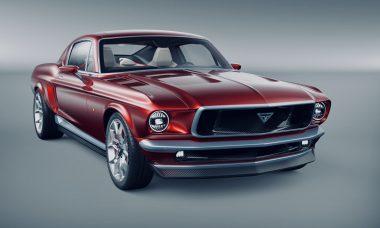 Empresa russa cria Ford Mustang elétrico com mecânica de Tesla