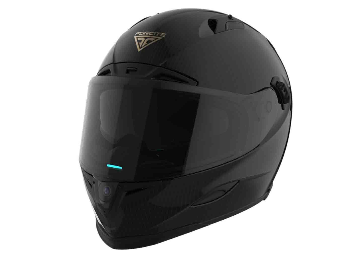 Forcite  MK1, Um capacete para o ajudar a detectar radares de velocidade e potencial presença policial. Foto: Divulgação