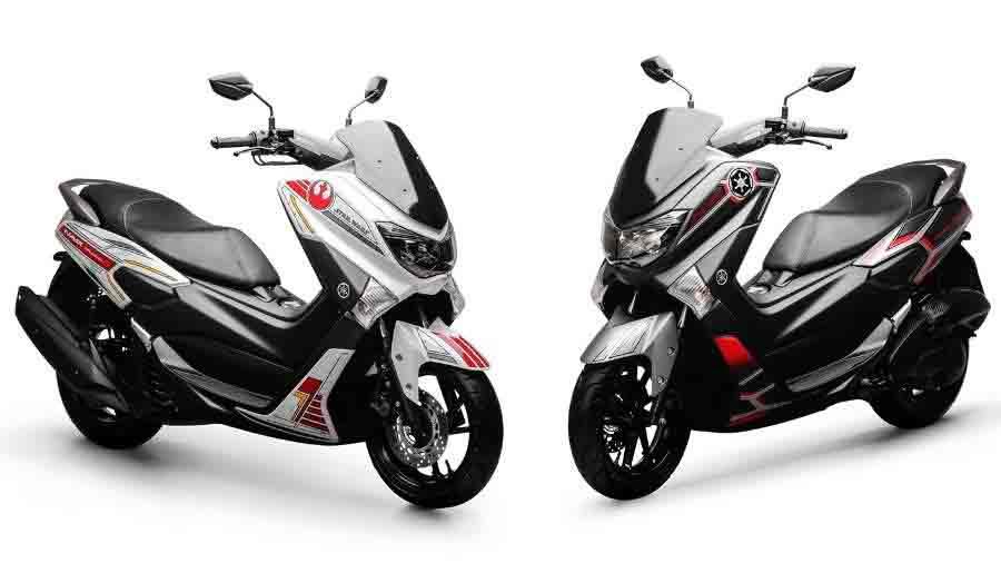 Yamaha lança série exclusiva e limitada da NMAX 160 ABS Star Wars. Foto: Divulgação