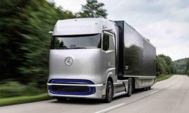 Mercedes-Benz GenH2. Foto: Divulgação