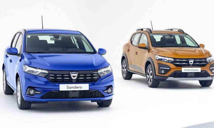 Novo Dacia Sandero e Stepway.. Foto: Divulgação