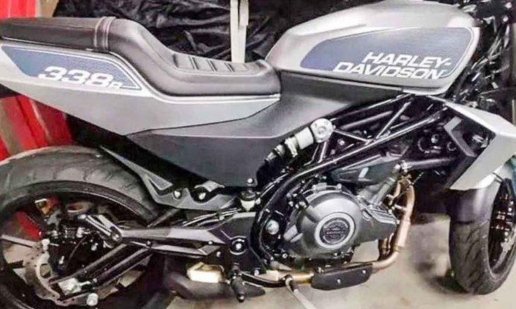 Harley-Davidson 338R : pequena H-D é vista pela primeira vez sem disfarces. Foto: reprodução