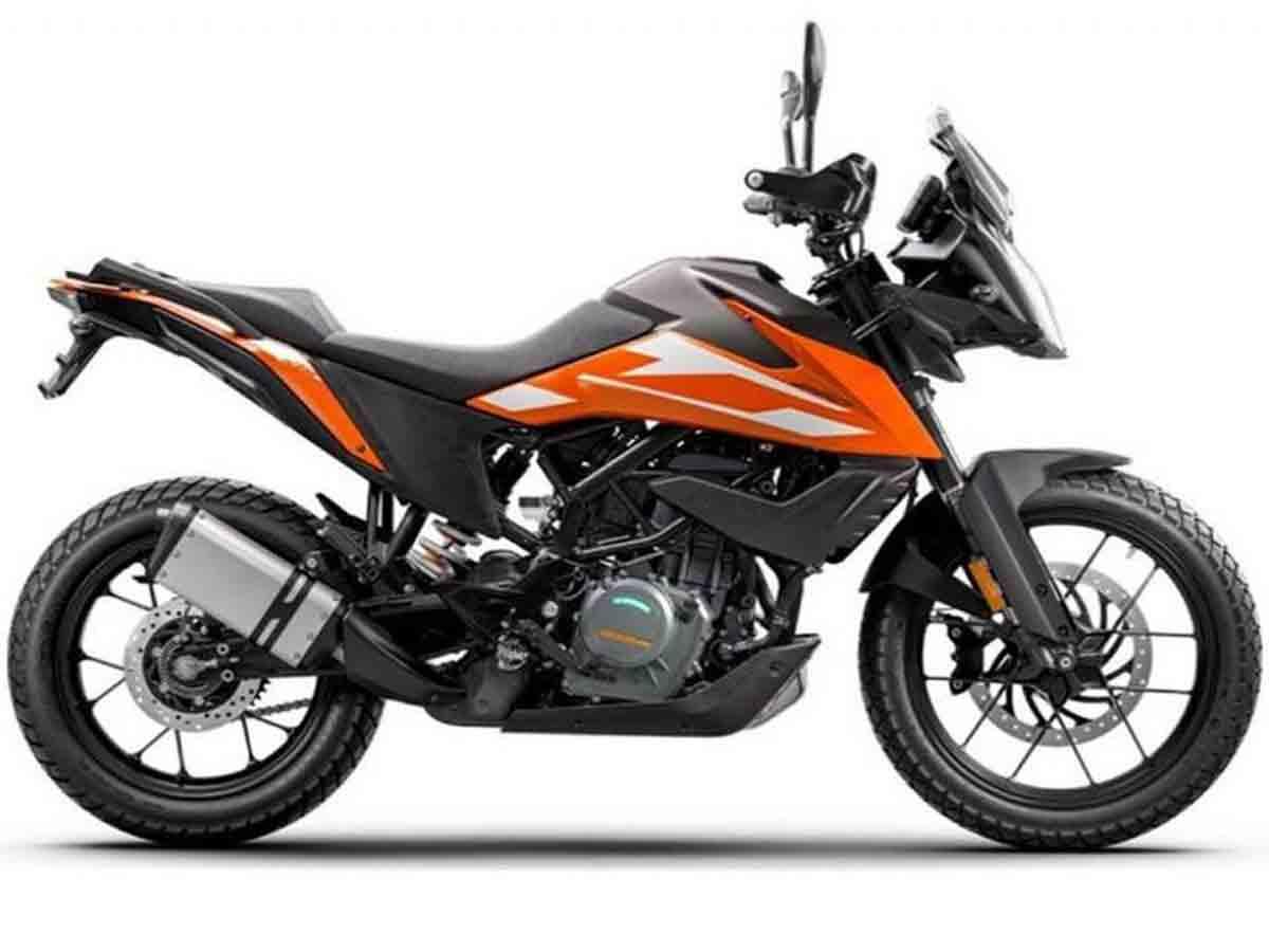 Nova KTM Adventure 250 deve ser lançada em outubro na Índia. Foto: Divulgação