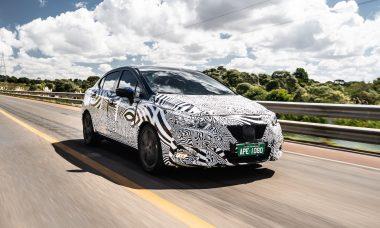 Novo Nissan Versa roda mais de 1 milhão de quilômetros em testes