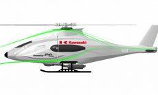 Kawasaki apresenta o K-RACER, um helicóptero movido com motor da Ninja H2 R , veja o vídeo. Foto: reprodução Youtube