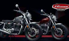 Novas informações e fotos e vídeo da nova Honda H'ness CB 350. Foto: Divulgação