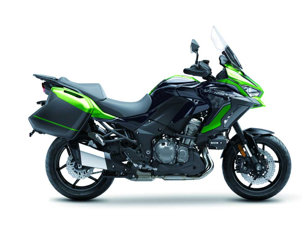 Kawasaki apresenta a nova Versys 1000 S 2021. Foto: Divulgação