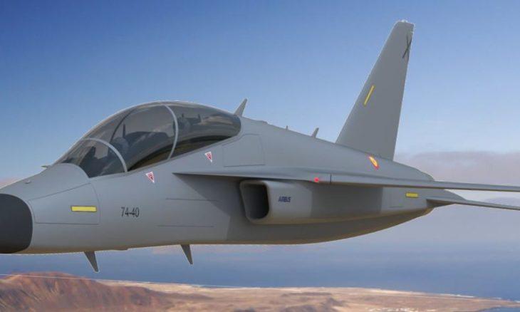 Airbus revela jato de treinamento que vai substituir os F-5 na Espanha